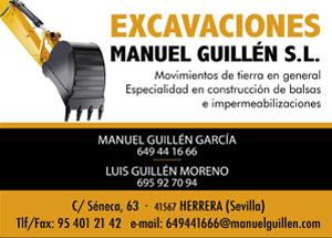 EXCAVACIONES MANUEL GUILLEN